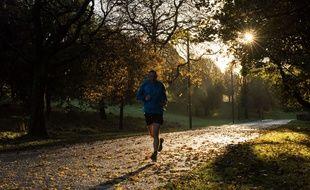 Un joggeur. (Illustration)