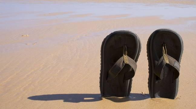 Une plage de Ramatuelle ferme, faute de respect de la distanciation sociale