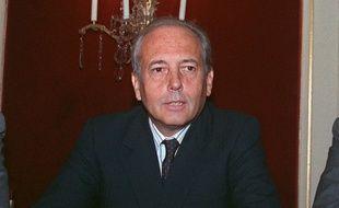Alain Chevalier, l'un des deux fondateurs de LVMH, est décédé à 87 ans. Photo prise le 22 septembre 1988 à Paris.