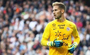 Benjamin Lecomte a réalisé seize clean sheets depuis ses débuts à Montpellier.