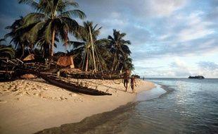 L'île de Kiriwina, dans l'archipel de Nouvelle-Guinée.