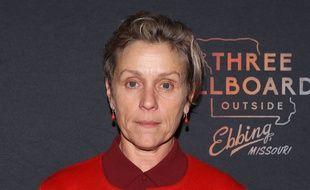 L'actrice récompensée, Frances McDormand
