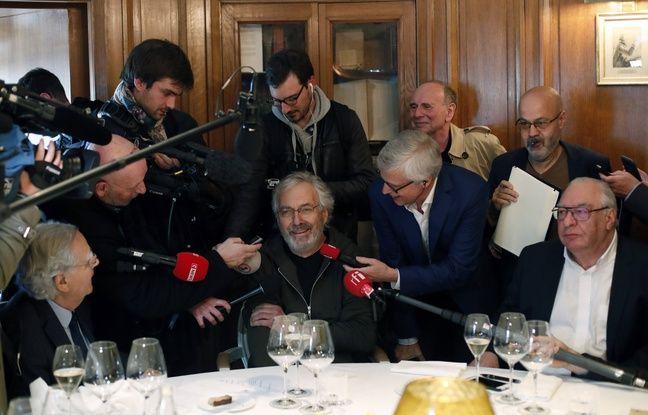 Jean-Paul Dubois a reçu le prix Goncourt le 4 novembre 2019