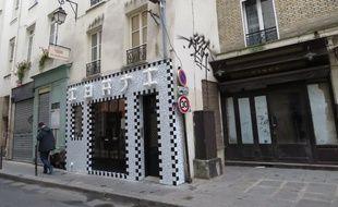 Paris, le 2 décembre 2014, trois rues du 3e arrondissements attendaient toujours la trentaine de boutiques de la Jeune Rue de Cédric Naudon.