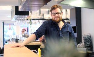 Marc Dagonet a créé Le Gourmet Vagabond, l'un des premiers food-truck de Rennes, et a ouvert son restaurant Le Gourmet en ville.