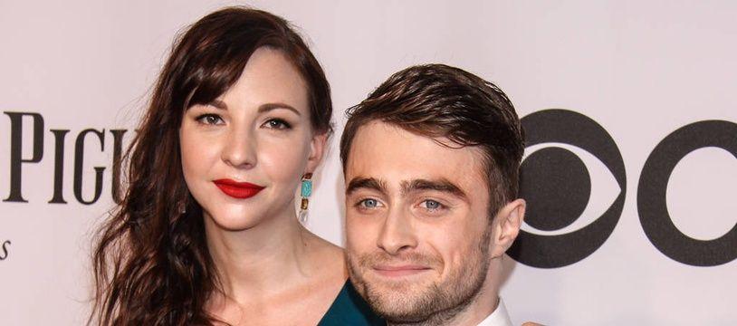 Le couple d'acteurs Erin Darke et Daniel Radcliffe