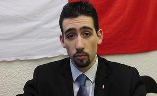 Arnaud Couture, candidat aux départemtnales pour le FN, a été mis en examen pour «enregistrement d'images pédoporgnographiques».