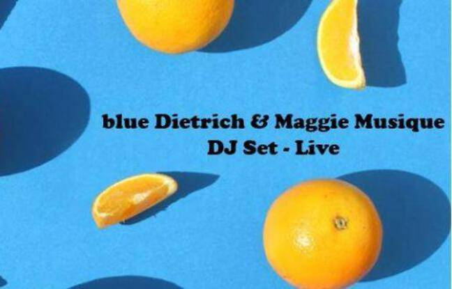 Oranges sur fond bleu pour la soirée électro-gourmande