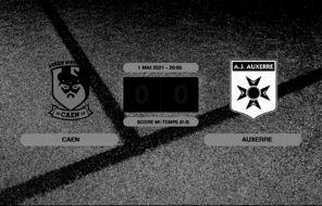Ligue 2, 36ème journée: Caen et Auxerre font match nul 0-0