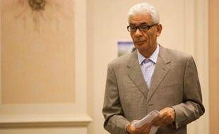 L'ex-ministre libyen des Affaires étrangères, Moussa Koussa, le 18 mars 2011 à Tripoli.
