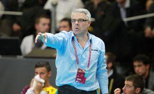 L'entraîneur nantais Thierry Anti.
