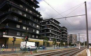 L'éco-quartier Ginko, dans le quartier du Lac à Bordeaux, le 20 septembre 2013