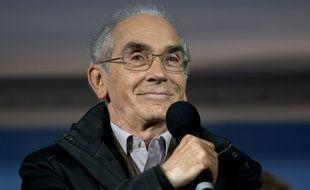 Le journaliste François de Closets à Paris, le 2 novembre 2015