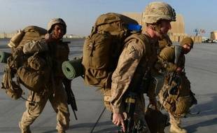 Des soldats américains arrivent à Kandahar en Afghanistan, le 27 octobre 2014 (Photo illustration)
