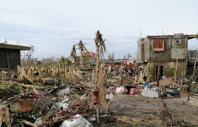 648x415 typhon goni detruit dizaines milliers habitation ile catanduanes philippines