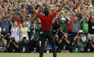 Tiger Woods a remporté le Masters d'Augusta, le 14 avril 2019.