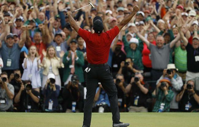 Augusta: Immense Tiger Woods! Onze après, le Tigre remporte à nouveau un titre du Grand Chelem