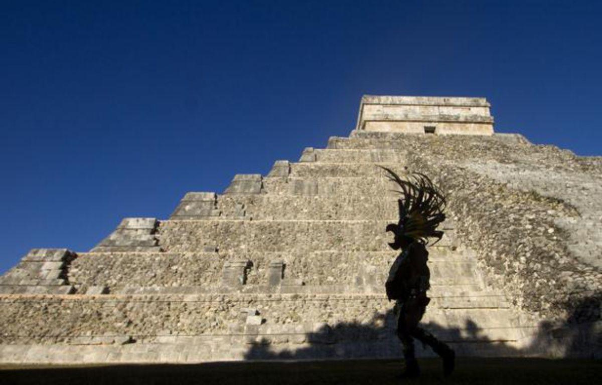 La pyramide de la cité maya Chichen Itza, dans l'Etat du Yucatan, au Mexique, le 20 décembre 2012.  – Pedro PARDO / AFP