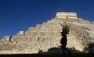La pyramide de la cité maya Chichen Itza, dans l'Etat du Yucatan, au Mexique, le 20 décembre 2012.