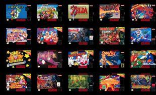 20 jeux cultes avec en prime, Starfox 2, un titre totalement inédit.
