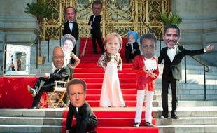 """Le sommet du G20 à Cannes ne doit pas être seulement """"un film"""" au """"scénario"""" bien huilé mais donner l'occasion de décisions """"concrètes"""", a appelé l'ONG Oxfam lundi à Paris lors d'une """"répétition générale"""" de la montée des marches du Palais des festivals par de faux dirigeants."""