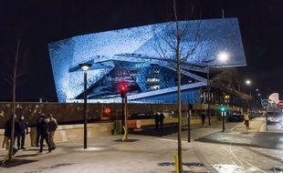 Gala d'ouverture à la Philharmonie de Paris le 15 janvier 2015.