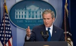 George W. Bush a admis des erreurs lundi lors d'une dernière conférence de presse, mais a défendu ardemment son action quand il s'est agi des aspects les plus susceptibles de définir l'image qu'il laisserait dans l'Histoire, comme l'Irak, l'économie ou Katrina.