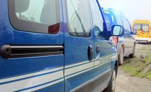 Illustration d'un véhicule de gendarmerie