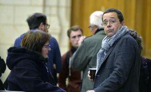 L'ex-urgentiste Nicolas Bonnemaison (d), à Angers le 21 octobre 2015