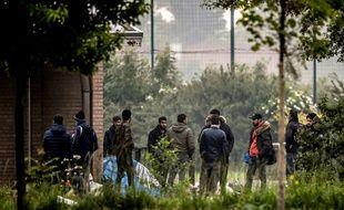 Des migrants irakiens évacués en mai 2018 à Grande-Synthe (image d'illustration).