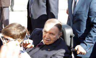 Abdelaziz Bouteflika, le 23 novembre 2017 à  Alger.