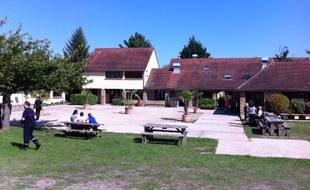 Les migrants seront accueillis sur l'ile de loisirs de Cergy (Val-d'Oise), le 9 septembre 2015.