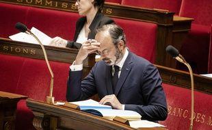 Edouard Philippe à l'Assemblée, le 5 mai 2020.