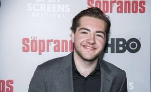 Michael, le fils de James Gandolfini, aux 20 ans de la série «Les Sopranos» le 9 janvier 2019 à New York.