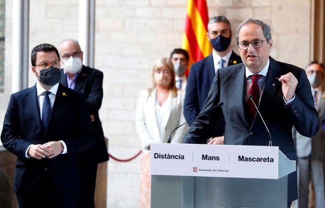 Espagne: La justice confirme l'inéligibilité du président régional catalan