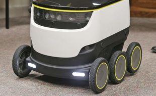 Les robots de Starship Technologies vont livrer des repas sur le campus de l'université de Fairfax.