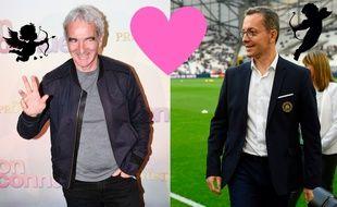 C'est l'amour fou entre Raymond Domenech et Jacques-Henri Eyraud.