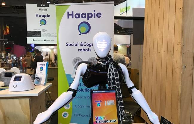 A Rennes, Haapie développe des robots d'accueil depuis 2015.