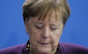 Angela Merkel s'est exprimée jeudi matin après la double fusillade près de Frankfurt.