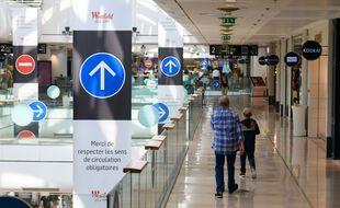 Le centre commercial Les Quatre Temps à Puteaux le 15 juillet 2021.