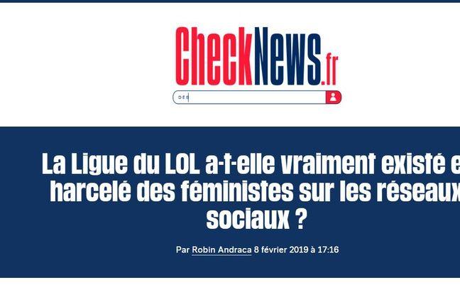 Capture écran de l'article de Libération qui déclenche un flot de témoignages.