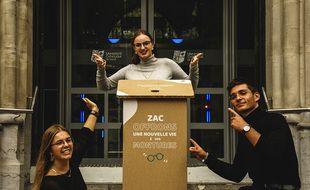 Les lunettes de Zac investit le créneau de la lunette reconditionnée.