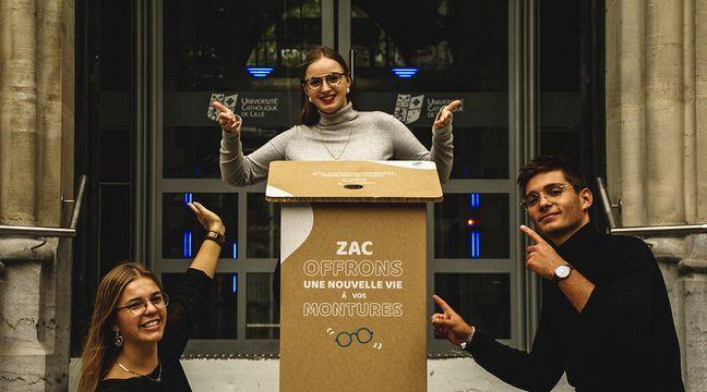 Roubaix: Des lunettes stylées et reconditionnées pour être zéro déchet