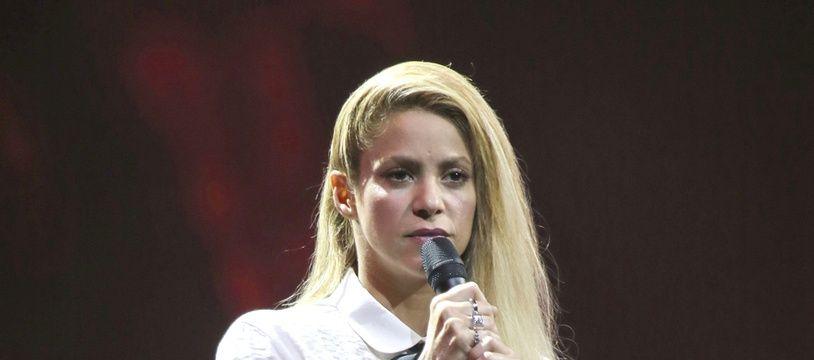 La chanteuse Shakira au Global Citizen Festival à Hambourg