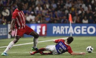 Usain Bolt face à Bixente Lizarazu