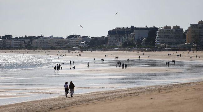 Couvre-feu à La Baule : D'importants moyens mobilisés pour retrouver un coureur qui fuyait la police à la nage - 20minutes.fr