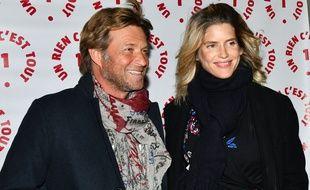 Laurent Delahousse et Alice Taglioni Lors du dîner de gala caritatif donné en faveur des actions de l'association Un rien c'est tout le 19 septembre 2019.