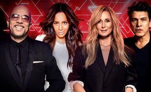 Les quatre nouveaux coachs de «The Voice», Pascal Obispo, Amel Bent, Lara Fabian et Marc Lavoine