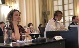 L'élue écologiste Gaëlle Rougier a été élue deuxième adjointe à la maire de Rennes Nathalie Appéré. Elles sera chargée de l'éducation.