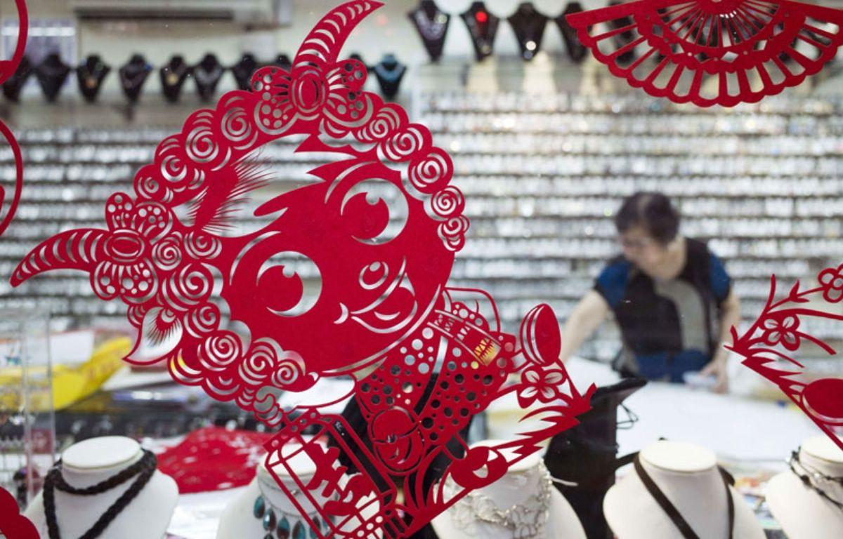 Une décoration du Nouvel an représentant une chèvre, le 15 janvier 2015 en Malaisie. – Joshua Paul/AP/SIPAJoshua Paul/AP/SIPA